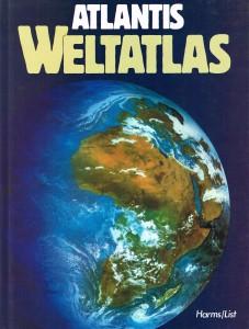Atlantis Weltatlas BRD  1984 001