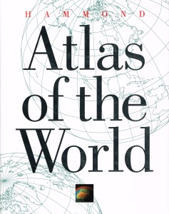Atlas of the World, Hammond USA 1992 001