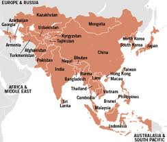 Interactive Maps Asia